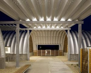 Houston steel buildings cool