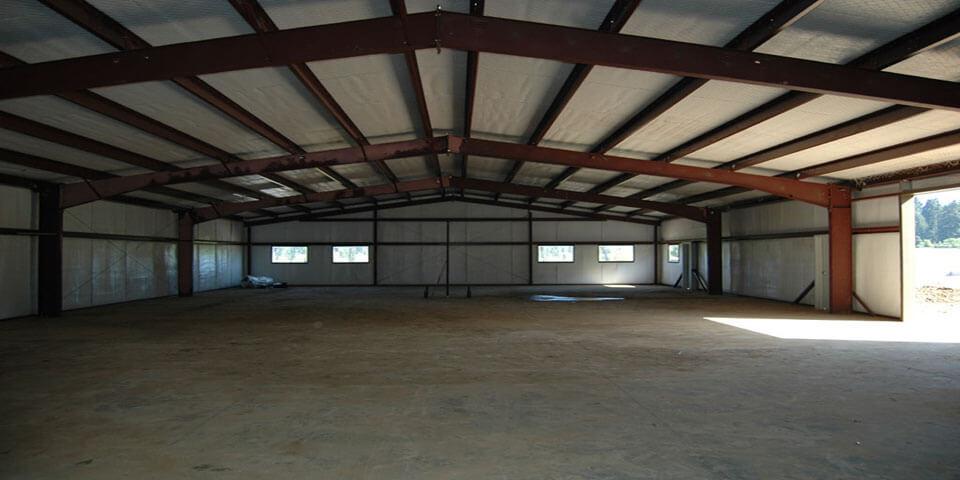 American steel buildings american western steel for American garage builders