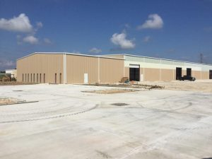Commercial metal buildings Houston