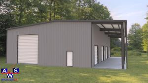 Prefabricated Steel Shop