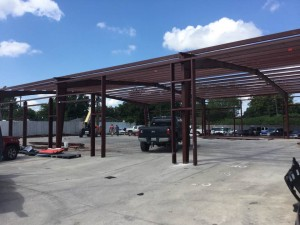 Meyerland-Collision-Steel-Building