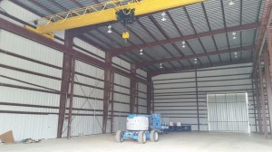 Steel-Building-with-Overhead-Crane-Houston